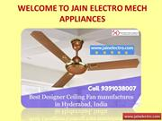 Unique Design Ceiling Fans Manufacturers & Suppliers in India
