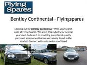 Bentley Continental Nearby