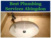 Best Plumbing Services Abingdon