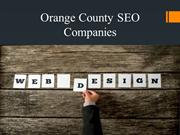 Orange County Seo Companies