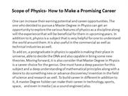 Scope of Physics- How to Make a Promising Career