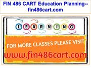 FIN 486 CART Education Planning--fin486cart.com