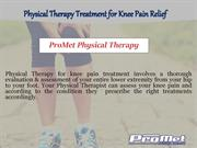 Physical Therapist's Guide to Knee Pain Relief - ProMet