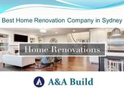 Best Home Renovation & extension Company in Sydney