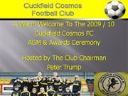 Cosmos 2010 Awards
