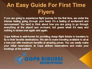 An Easy Guide For First Time Flyers