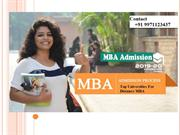 Distance MBA Admission 2019 | Correspondence MBA Admission Program