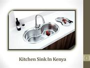 Specialty Kitchen Sink In Kenya: Learn About Different Types of Sinks