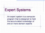 Intro Expert Systems test-me.co.uk