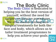 The Body Cliinic Multi-Speciality Clinic in West Midlands