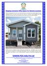 Shipping Container Office Space For Remote Locations