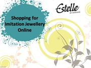 Indian Fashion Jewelry Online, Shopping for Imitation Jewellery Online