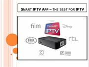Smart IPTV App – The Best for IPTV