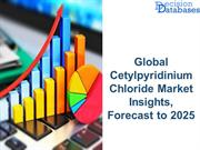 Global Cetylpyridinium Chloride Market Insights, Forecast to 2025