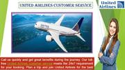 United-Airlines Customer Service to book cheapest air-tickets