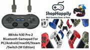 8Bitdo N30 Pro 2 Bluetooth Gamepad For PCAndroidmacOSSteamSwitch (M Ed