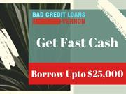 Bad Credit Car loans Vernon BC