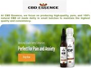 CBD Hemp Oil Products | Natural CBD Oil Tincture | CBD Essence