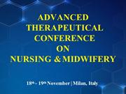 NURSING CONFERENCE |NURSING CONGRESS | NURSING MEETINGS