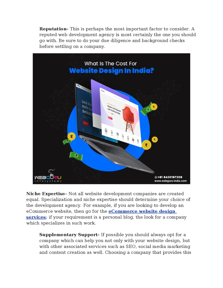 What Is The Cost For Website Design In India Authorstream