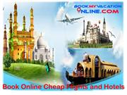 Book Online Cheap Flights and Hotels
