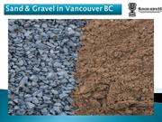 Sand & Gravel in Vancouver BC