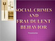 Social crimes and law