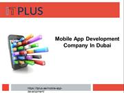 Mobile App development Company In Dubai - Top Mobile App Developers