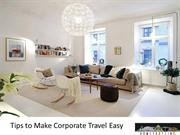 Tips to Make Corporate Travel Easy