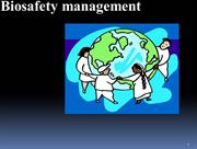 biosafety management