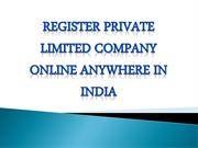 private limited company-converted