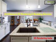 Architectural 3D Rendering & Modeling Services - 3D Rendering India