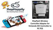 Mayflash Wireless Controller Adapter for Nintendo Wii Controller to PC