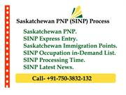 SINP Processing Time Express Entry 2019-20 Apply From India
