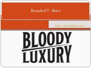 Buy T- Shirts Online in London