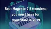 The Top Magento 2 Extensions in 2019