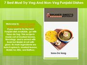 6 Best Must Try Veg And Non-Veg Punjabi Dishes