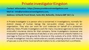 Best Tips For Private investigator Kingston