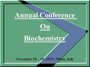 Biochemistry conference 2019 | biochemistry meetings