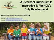preschool La Puente CA - A Preschool Curriculum Is Imperative To Your