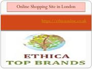 Online Shopping Site in London