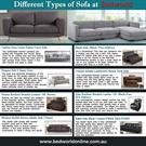 Varieties Of Sofa | Bed Stores Osborne Park | Discount Beds Perth