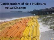 Disaster Populations