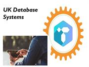 The data-driven customized database systems Glasgow