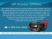 What are the steps to overcome HP Printer Says Offline issue?