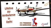 How to Get Best Air Ambulance in Delhi by the Experienced Service