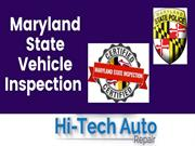 Maryland State Vehicle Inspection