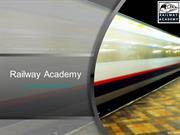 Online Certificate Courses and PG Diploma Courses; Railway