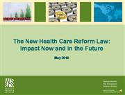 The New Health Care Reform Law