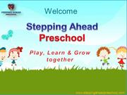 Early Childhood Education | Stepping Ahead Preschool Program